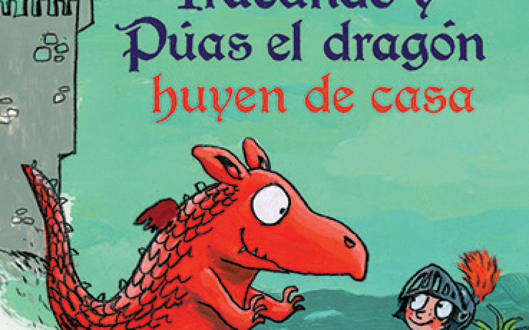 El caballero Iracundo y Púas el dragón huyen de casa