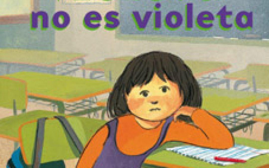Violeta no es violeta